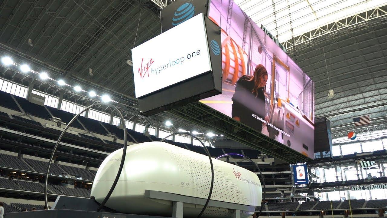 From Arlington to Laredo in 42 Minutes: Hyperloop Travel