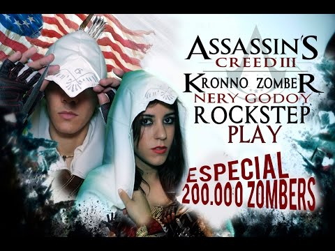 ESPECIAL 200K | Assassin's Creed Connor - Kronno & Nery Godoy ROCKSTEP-PLAY