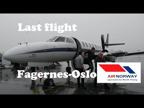 Fagernes-Oslo (Metro 23) (LAST FLIGHT)