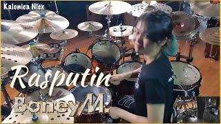 Boney M - Rasputin Drum cover by Kalonica Nicx