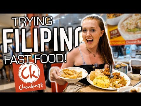 British Couple Try Filipino CHOWKING for the First Time!