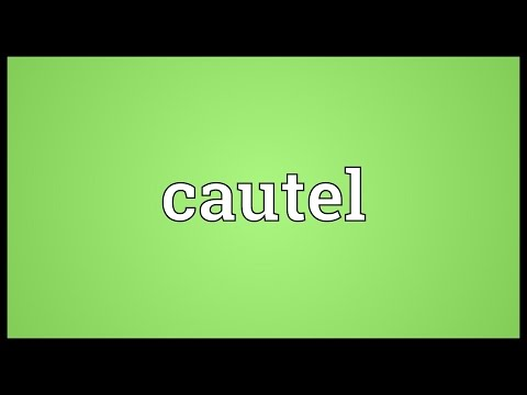 Header of cautel