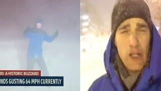 Juno Blizzard 2015 Hits New York NY Long Island Boston Massachusetts New Jersey & NYC Snow Storm!!!