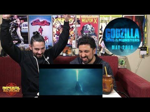 Godzilla King Of The Monsters (Godzilla 2) Trailer SDCC 2018 - REACCION!!!