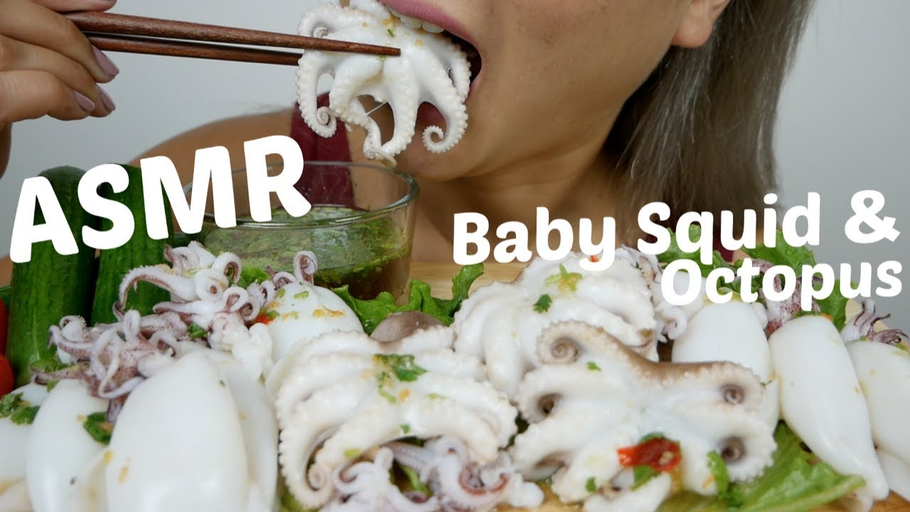 Baby Squid Baby Octopus Asmr Relaxing Eating Sounds N E Let S Eat Youtube Like #spicy#enokimushroom#octopus#redasmrasmr spicy enoki mushroom and octopushello. baby squid baby octopus asmr relaxing eating sounds n e let s eat