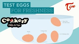 How to tell if eggs are rotten