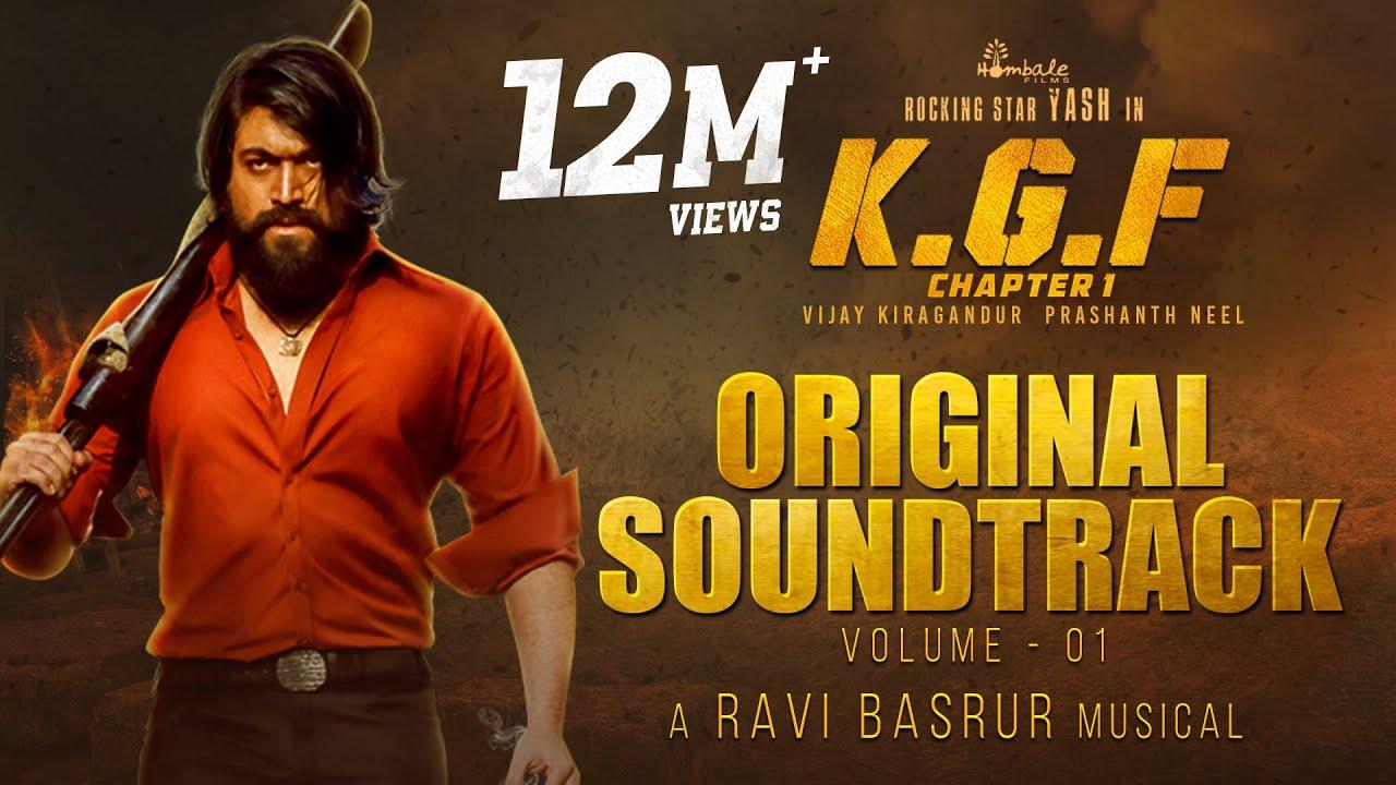 KGF Chapter 1 - BGM (Original Soundtrack) | Vol 1