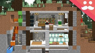 The 3 Hour SECURE MINECRAFT BUNKER!