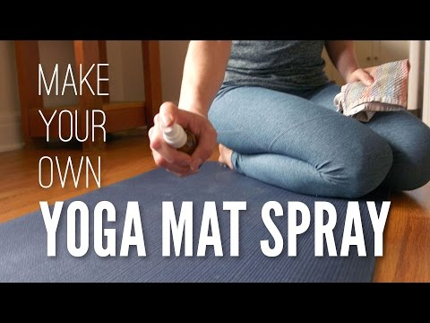 Homemade Yoga Mat Spray (Tutorial)