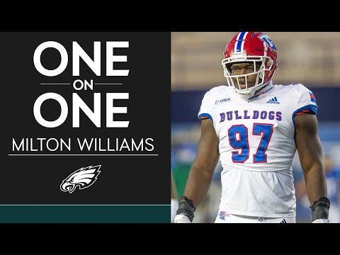 Get to Know Third-Round Pick Milton Williams | Eagles One-On-One