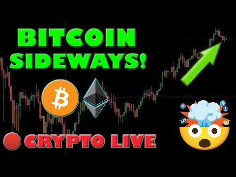 BITCOIN AND ALTCOINS GO SIDEWAYS! WHAT IS NEXT?