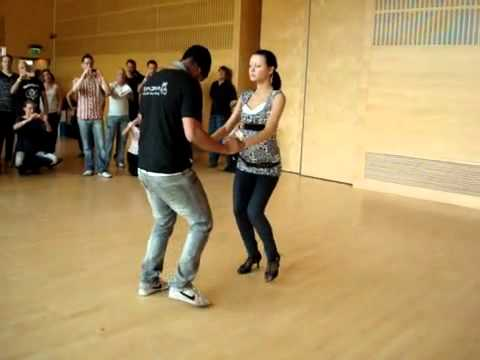 Bachata Estilo dominicano 7 - freestyle Training VidalWeb