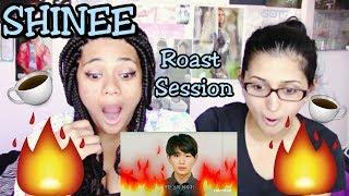 Shinee Roast Session Reaction 🔥(Savage)🔥