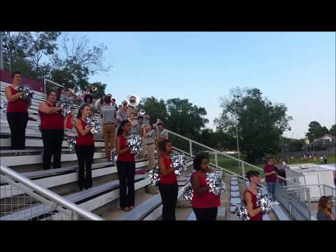Destrehan High School Senior Band Members play Star Spangled Banner