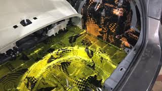 Opel Astra шумоизоляция. Уровень шума в салоне опускаем до уровня читального зала в библиотеке )