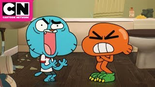 The Amazing World Of Gumball | Gumball + Darwin's Voices Change | Cartoon Network