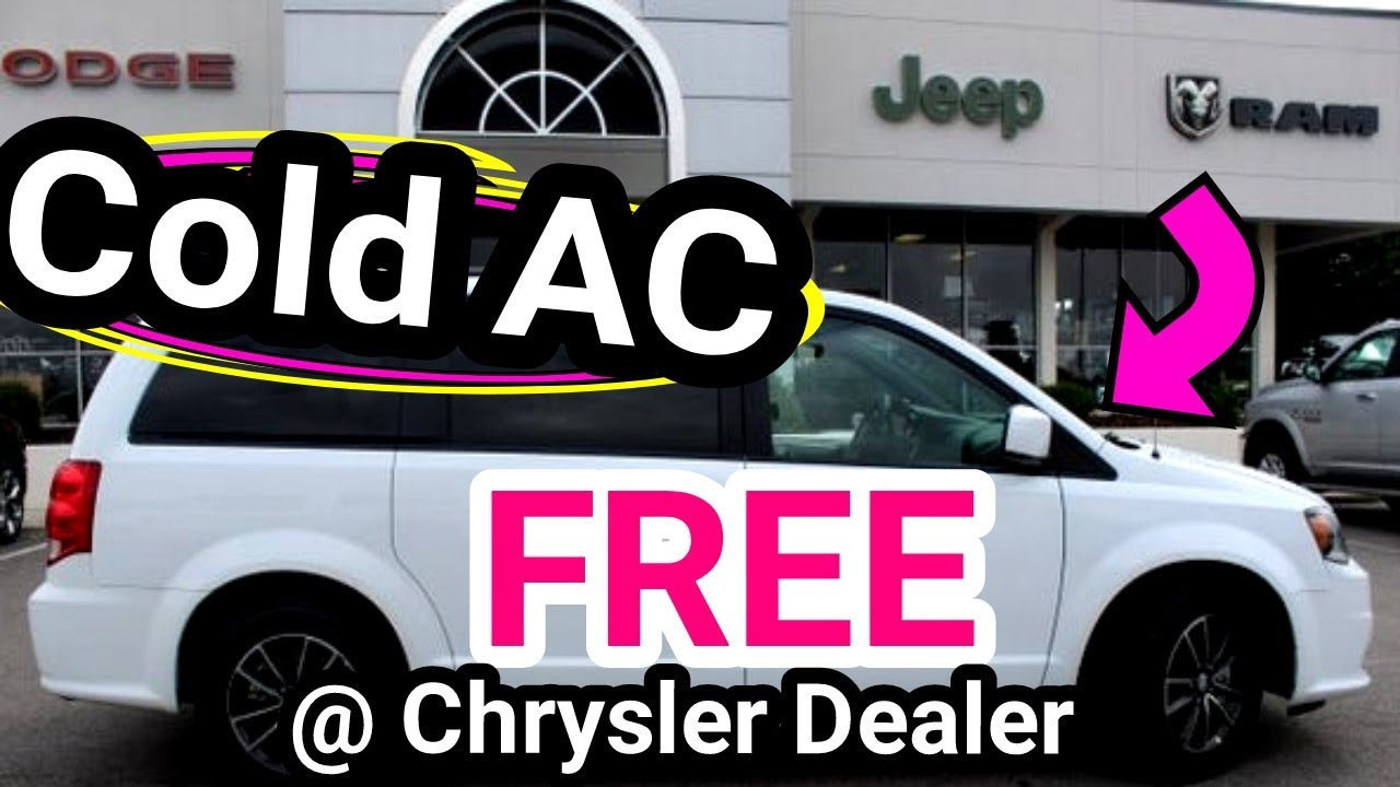 How to get your car AC fixed for FREE, at the DEALERSHIP
