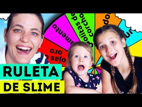 RULETA DE SLIME | Slime VS Slime | Nos pasa algo increible | Yippee Family