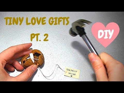 Tiny Love Gifts DIY | Surprise Gifts for Girlfriend / Boyfriend  Small Gift Ideas by Fluffy Hedgehog