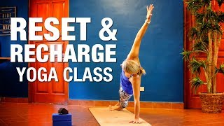 Reset & Recharge Yoga Class - Five Parks Yoga