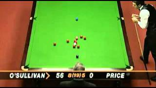 Snooker Table - The fastest snooker 147 in the history   Ronnie O' Sullivan