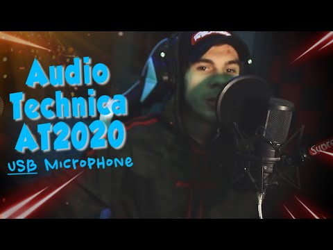 audio-technica-usb-at2020-condenser-microphone-review-/-test-(made-a-song)