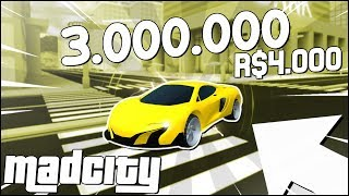 I BOUGHT THE NEW MAD CITY CAR pour 4 000 ROBUX! Meilleur JEU? 😱-NOUVEAU ROBLOX UPDATE