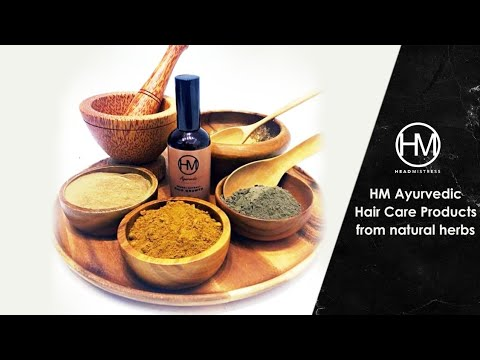 HM Ayurvedic Hair Care Products from natural herbs