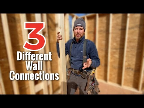 How to build a house ~ Wall Connections