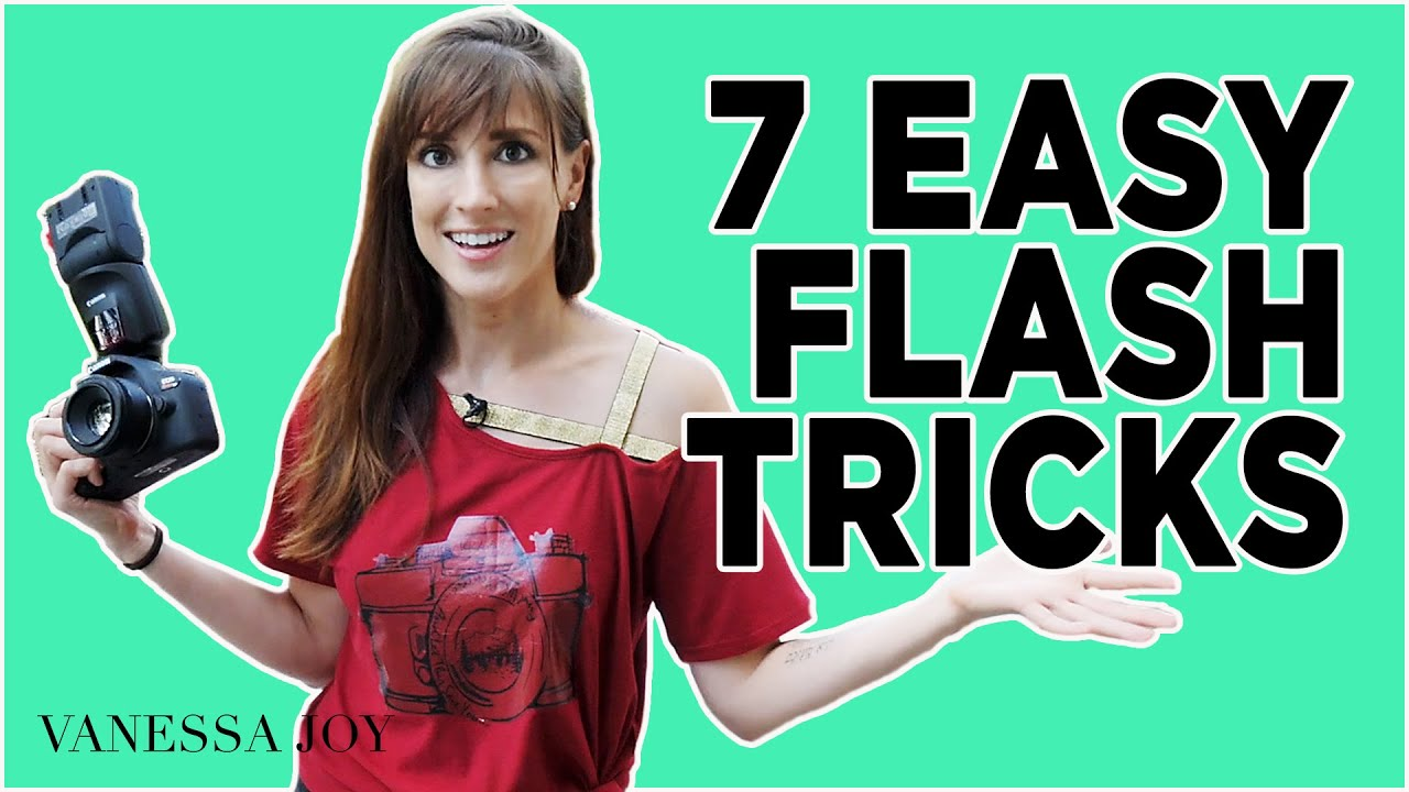 7 Quick and EASY Flash Photography Tips