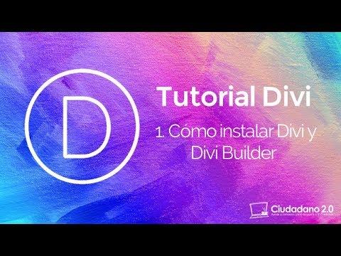 Cómo instalar la plantilla WordPress Divi 3.0 y Divi Builder - YouTube