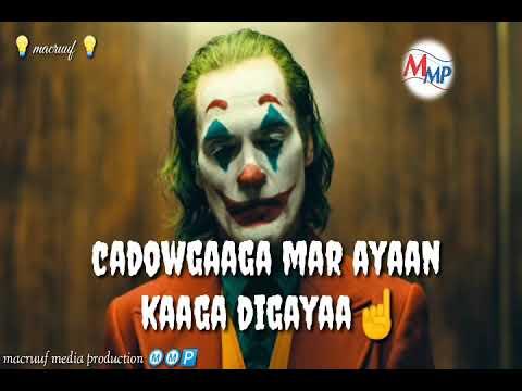 Waxaan Kaaga Digayaa Saaxibka Xun | By Macruuf Media Production |mohamoud Mursal Mohamed