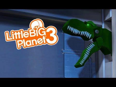 LittleBIGPlanet 3 - The Jurassic Park - Boat Ride - UNIVERSAL ORLANDO Florida - Playstation 4