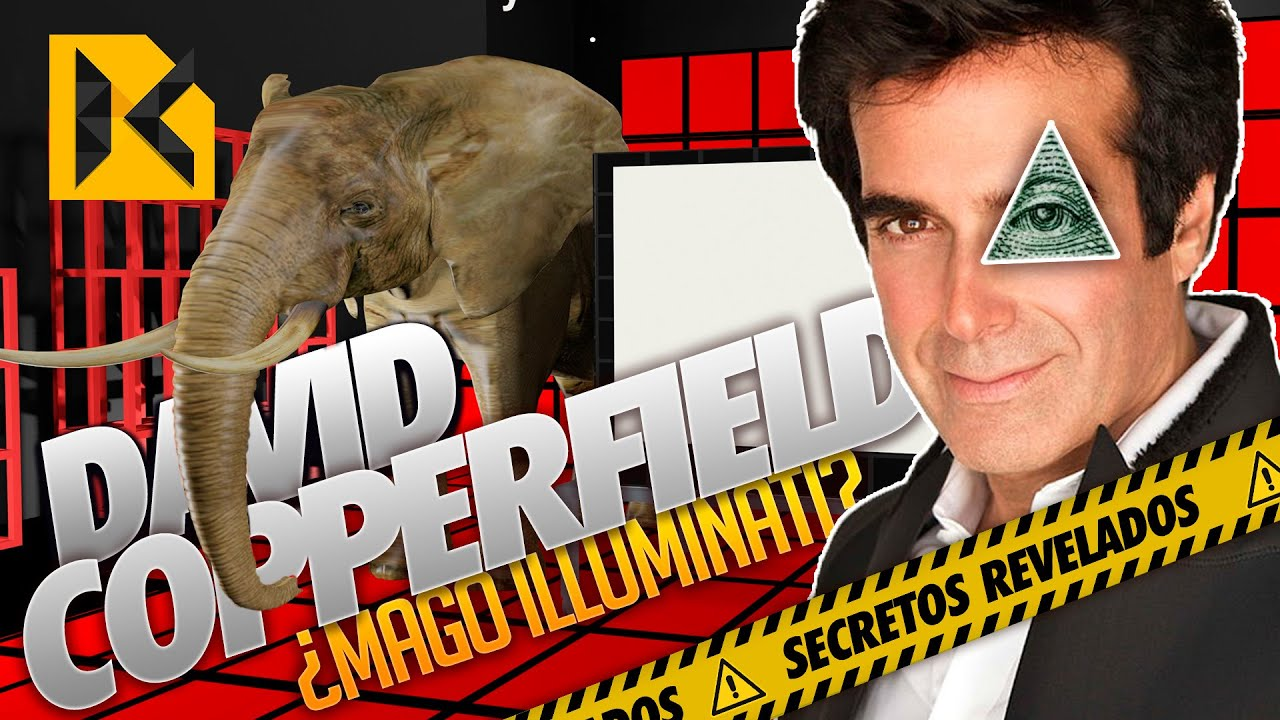 El Secreto Del Mago Illuminati David Copperfield Para Aparecer Un