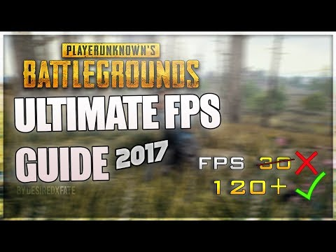 PUBG Ultimate FPS GUIDE increase performance & FPS with any setup