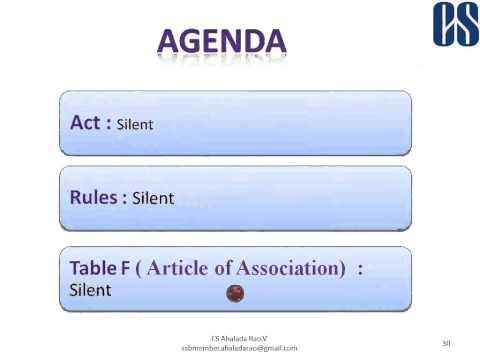 Focus on Secretarial Standards