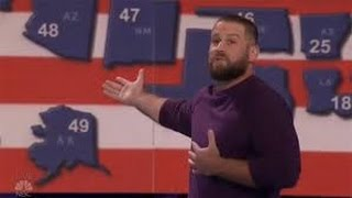 Jon Dorenbos - NFL Magician W/ Crazy Football Magic - Full Segment - Semifinals 1 - AGT 2016