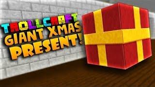 Crainer Troll Craft~Minecraft: GIANT CHRISTMAS PRESENT TROLL!! -