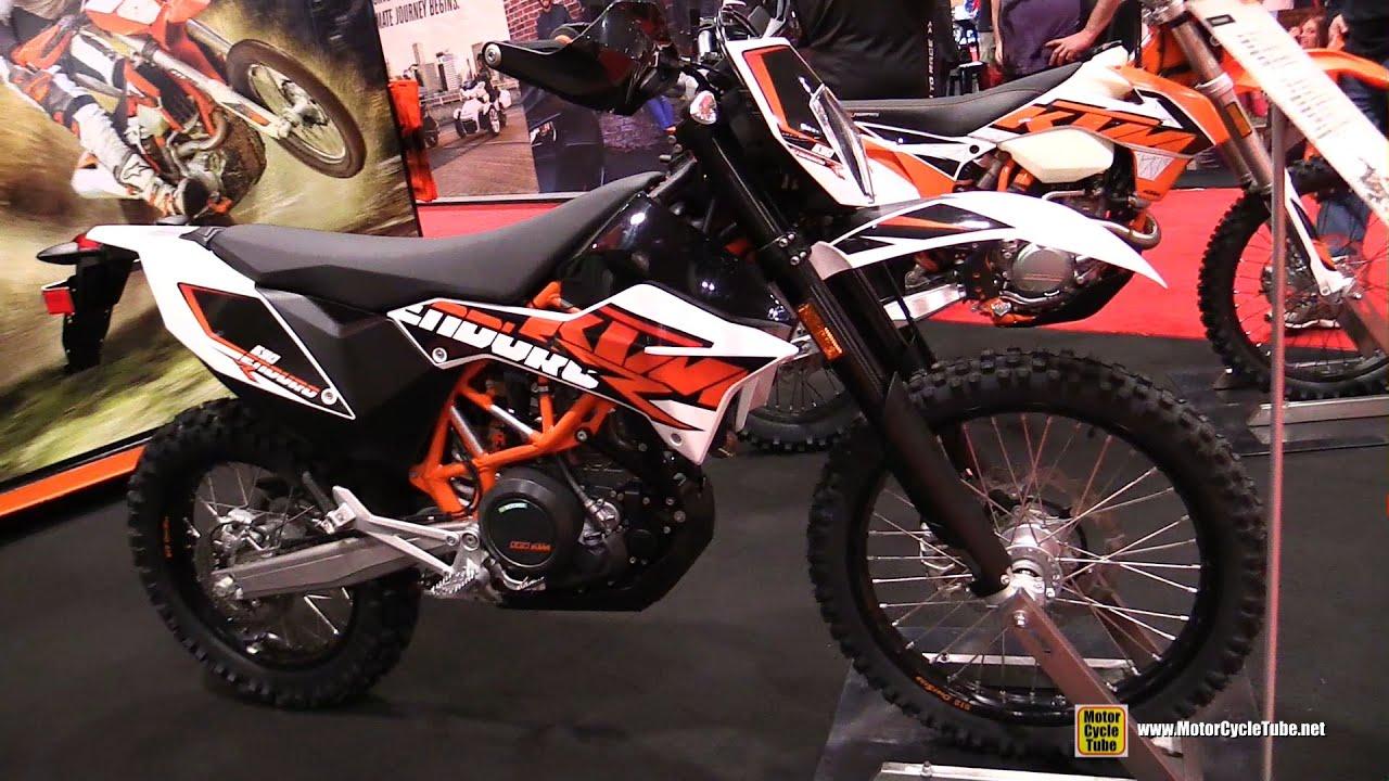 2016 ktm 690 enduro r - walkaround - 2016 toronto motorcycle show