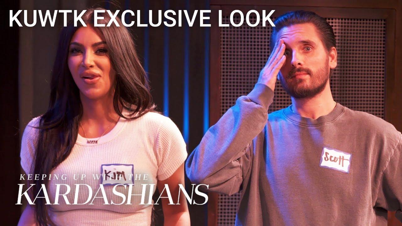 Kim Kardashian Can't Stand Improv Class...But Scott Rocks!   KUWTK Exclusive Look   E!