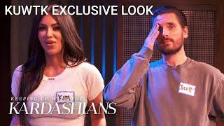 Kim Kardashian Can't Stand Improv Class...But Scott Rocks! | KUWTK Exclusive Look | E!