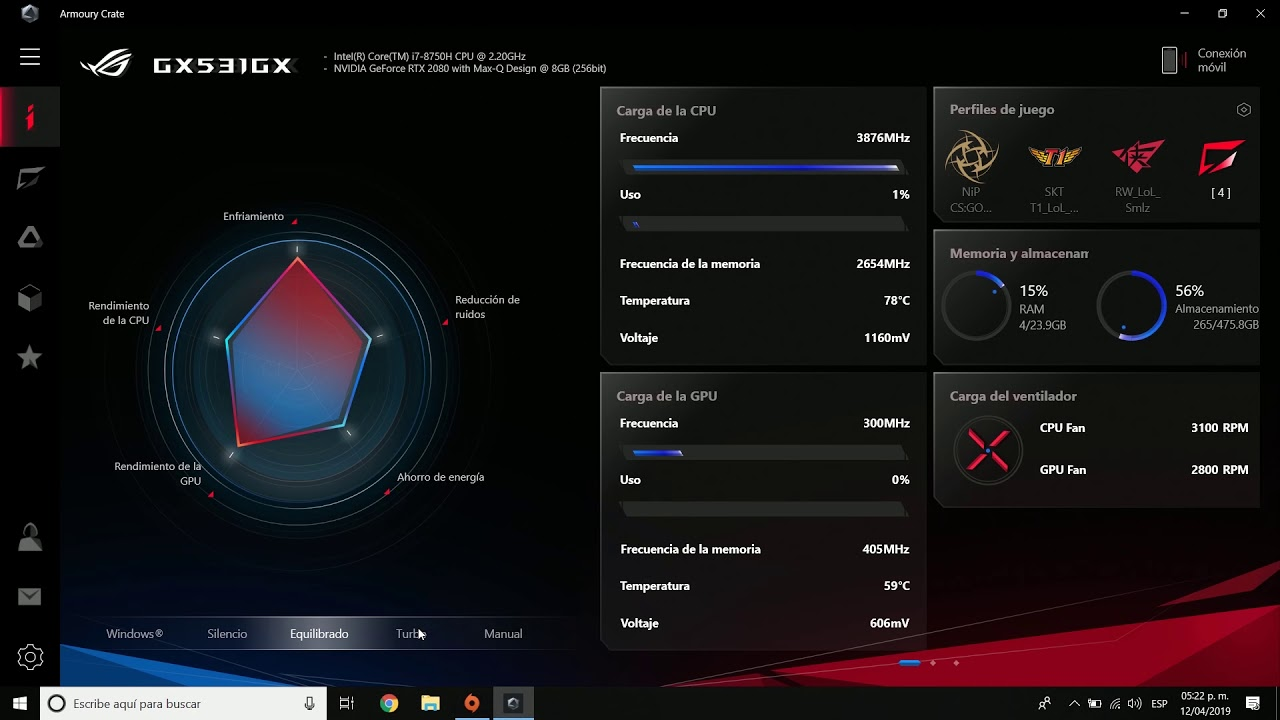 FB ROG Live #9 - Armoury Crate en laptops