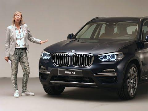 A bord du BMW X3 2017