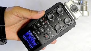 Zoom H6 Handy Recorder - superb 6 track audio recorder in your pocket [Review]