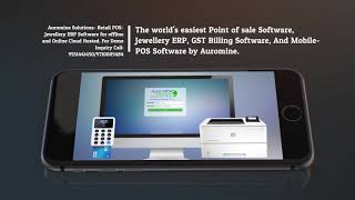 Jewellery erp software and pos for offline online cloud hosted. the fastest growing point of sale company in south central asia is auro...