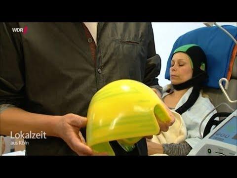 chemotherapie mit spezieller kälte kappe und haare