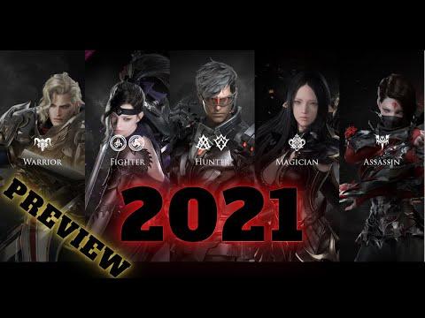 Lost Ark All Class | All 20 Classes | 2021 | STRIKER and GUNSLINGER