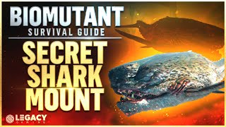 Biomutant SECRET Shark Mount - Don't Miss This! | The PeeWee Gargantua