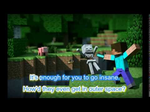 "♫ ""Wrecking Mob"" Sing A Long - A Minecraft Parody of Wrecking Ball"