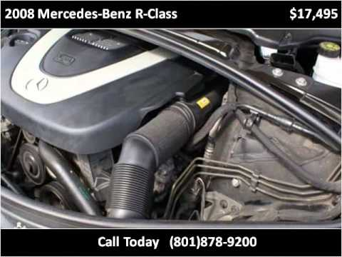 2008 Mercedes Benz R Class Used Cars Midvale UT